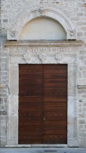 Portale di Giulio II, Cartiera Papale.