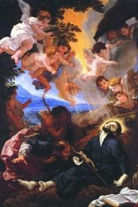 """""""Morte di S. Francesco Saverio"""", Baciccio"""