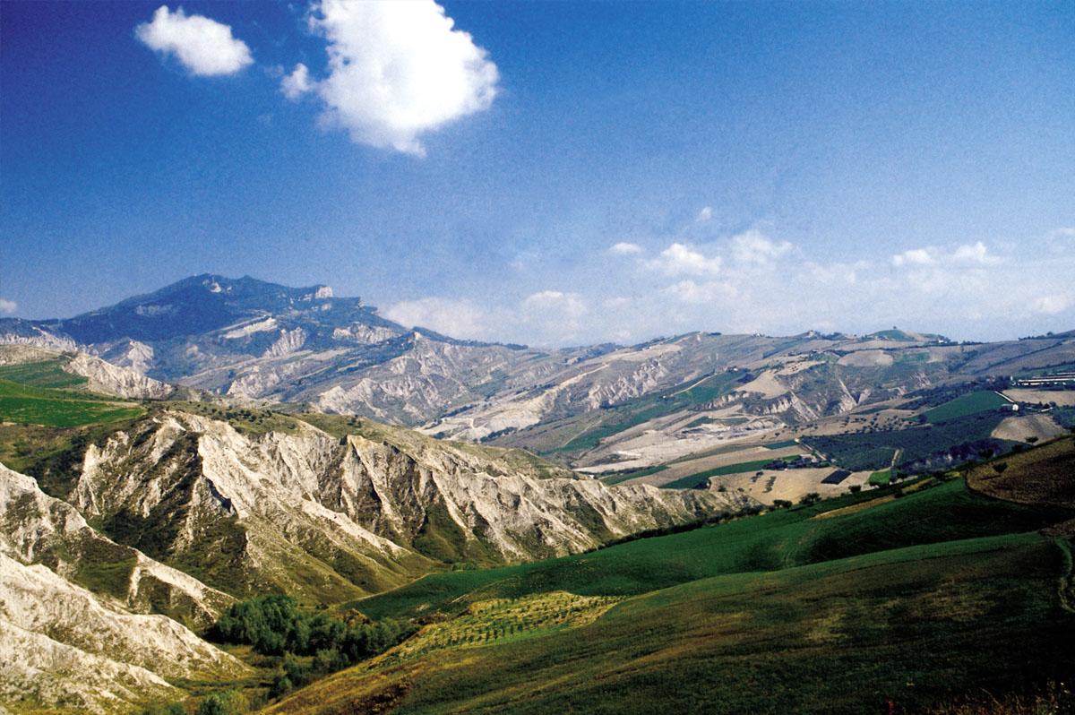 Calanchi's landscape