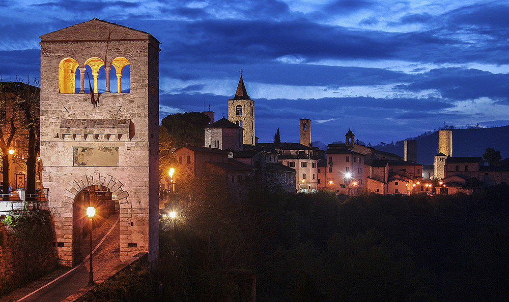 Ascoli Piceno…in the evening