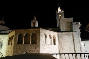 the Baptistery and the Cathedral of Sscoli Piceno