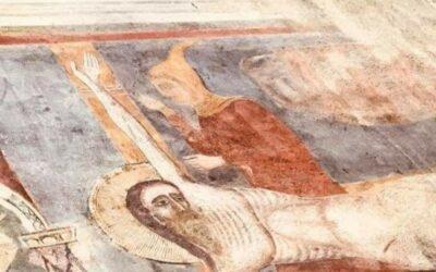 UNO STRANO PERSONAGGIO: L'EBREO NELLA CHIESA DI S. ANDREA AD ASCOLI PICENO